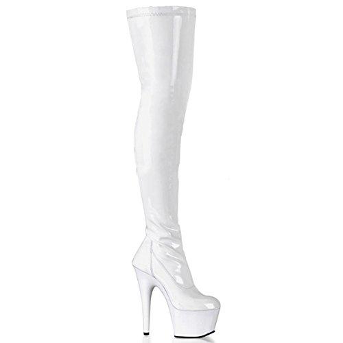 Pleaser Adore-3000 - sexy plateau talon hauts chaussures femmes cuissardes bottes 36-43