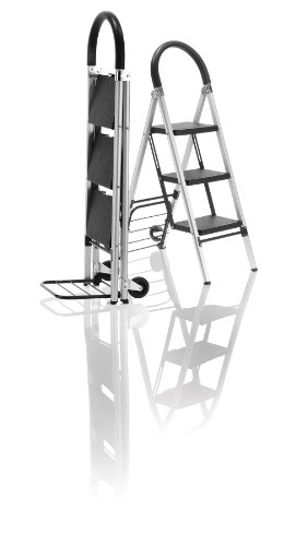 Travel Smart by Conair LaddarKart w/ 3-Step Ladder and Folding -