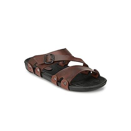 Fentacia Men Brown Sandals Big (UK6-UK14