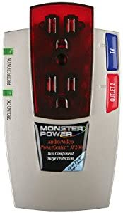 Monster MP AV 200 Audio Video PowerCenter AV 200 with Clean Power Stage 1 v2.0 Discontinued by Manufacturer