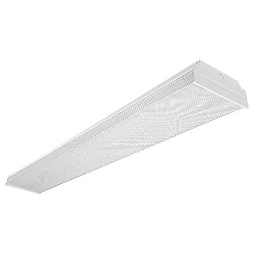 Wraparound Garage Shop Light Flush Mount Ceiling Light, 100W Equiv. Ultra Bright 4000lm, Cool White 4000K ()