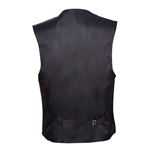 Hommes SG Jacket Slim Hommes Hommes Schwarz Size Gilet Pour Pour Loisirs Fit Business Manches Costume Formel Gilet Sans De Color Pour Gilet wI10T1