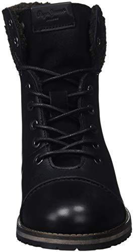 Femme Pepe Black 999 Jeans Bottines Warm Melting Noir vxRnrx