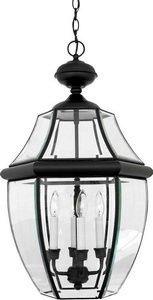 Quoizel NY1180K  Newbury 4-Light Outdoor Lantern, Mystic Black - Newbury Newbury Outdoor Fixture