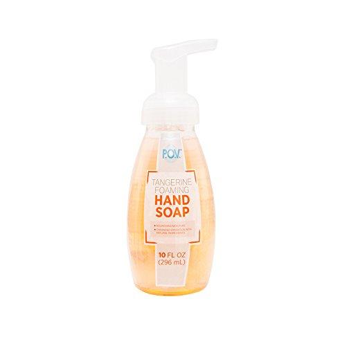 P.O.V. Tangerine Foaming Hand Soap, 10 Fl Oz (Pack of  6)