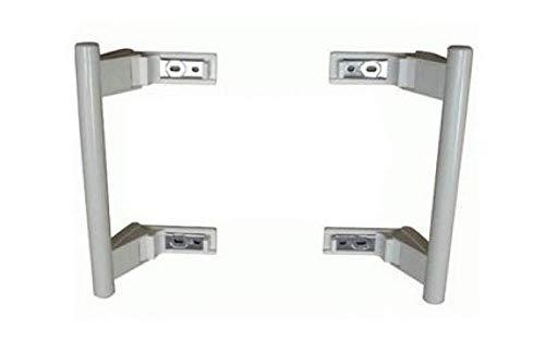 Juegos de 2 manillas de puerta blanca referencia: dhf003lb para ...