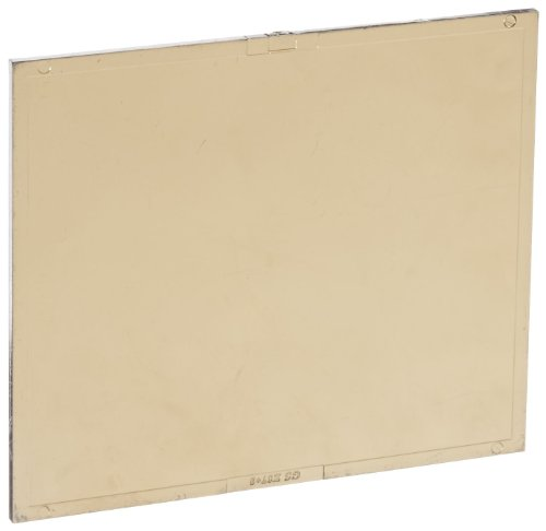 """UPC 662302451838, Gateway Safety 45G08 Polycarbonate IR Filter Welding Lens, Shade 08, 5-1/4"""" Length x 4-1/2"""" Width, Gold-Coated"""