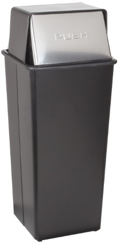 Witt Hamper (Witt Industries 21HT-22 Steel 21-Gallon Hamper and Push Top Receptacle, Legend
