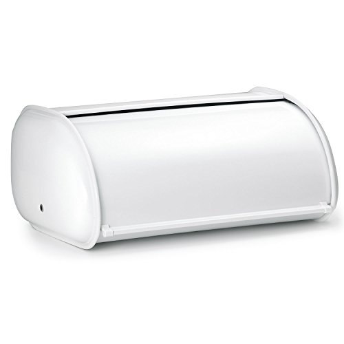 Polder Premium Steel Bread Box - WHITE