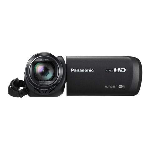 Renewed  Panasonic HC V385GW K Consumer Camcorder  Black