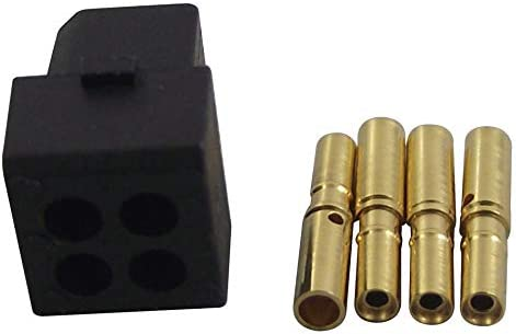M80-8880405 L-Tek M80 Series Crimp Receptacle 4 2 mm Wire-To-Board Connector Gold Plated Contacts RoHS Compliant: Yes, Pack of 20