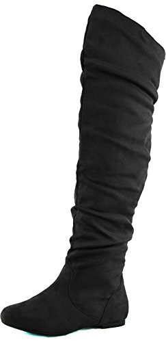 Thigh high heel boots size 12 - Trenters.com