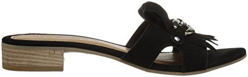 Black Suede Women's Slide Sandal Andre Assous Vivien TxqRRn