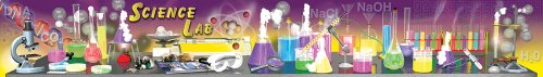 Carson Dellosa Mark Twain Science Lab Tools Topper Bulletin Board Set (410012)