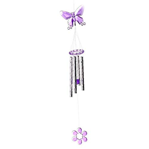 Xiwindar Butterfly Wind Chimes Outdoor Garden Home Yard Hanging Decoration Ornament Tool by Xiwindar