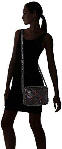 dark Maletín Sansibar Red Zip Mujer Bolsos Rojo Bag tvYvw