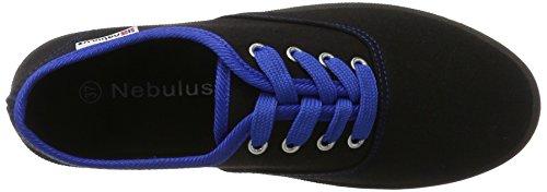 Nebulus Marina, Damen Sneakers Schwarz (Schwarz)