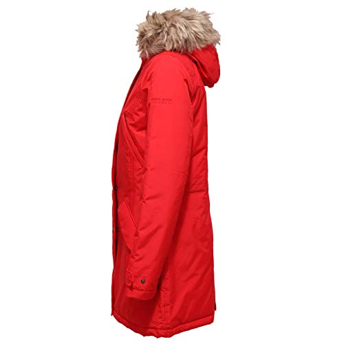 Red Rosso Woolrich Parka Donna Fur Jacket rich Eco Woman Giubbotto Penn 7073x PrSxr