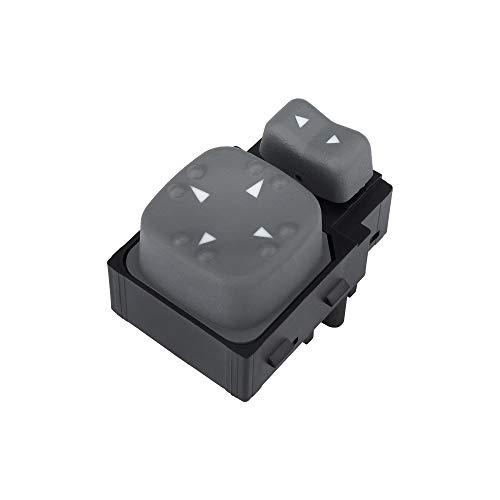 Mirror Switch for Front Left Driver Side - For Chevrolet Blazer, S10, GMC Jimmy, Sonoma, Oldsmobile Bravada ()
