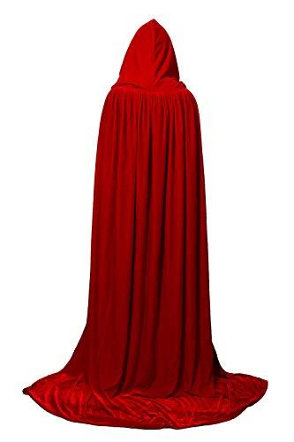 BengPro Adult Women Men Costume Hooded Velvet