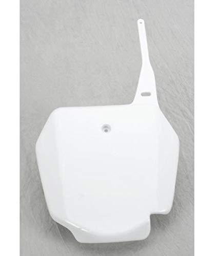 UFO SU03968-041 Replacement Plastic (for Suzuki Front # Plate RM85 White) (Rm 85 Plastics)