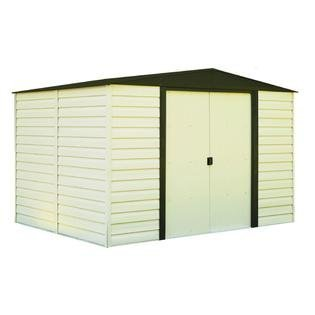 Vinyl Dallas 10 ft. x 8 ft. Vinyl-Coated Steel Storage Shed(10 x 8 ft.3,0 x 2,3 m)