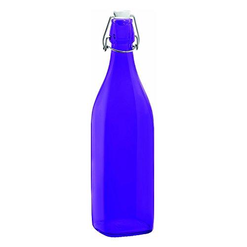 Bormioli Rocco Swing Bottle, 33-3/4-Ounce, Purple