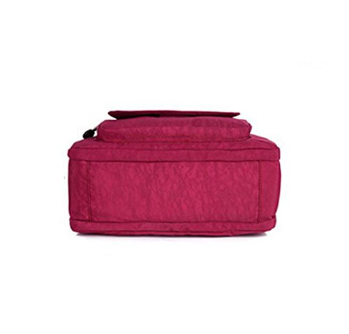 Sportiva Borsa Nylon Selvaggio Grande In Rosso Occasionale Di Capacità Multi comparto Spalla Impermeabile wgq5tdyw