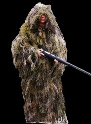 Ultra-Light Ghillie Jacket - - Ghillie Ultralight Jacket