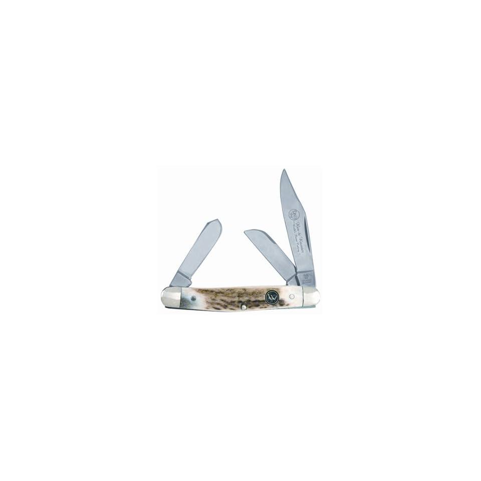 Knife Stockman Genuine Deer Stag 313 DS