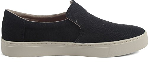 Tomas Heren Lomas Slip-on Zwart Heritage Canvas 10.5 D Ons