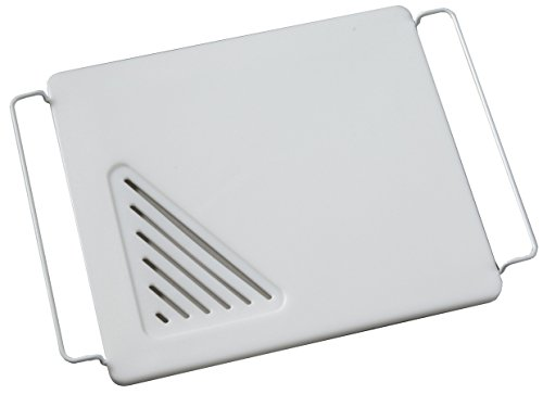 Vance 12 X 13 inch Over the Sink Poly Cutting Board with Adjustable Wire Handles, 8PC1213SB