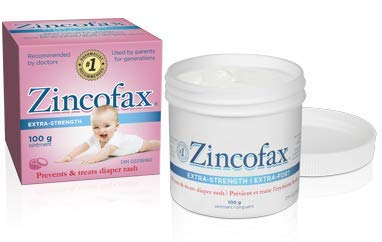 ZINCOFAX 'EXTRA STRENGTH' Ointment for Treatment, Healing and Prevention of SEVERE DIAPER RASH 100 g