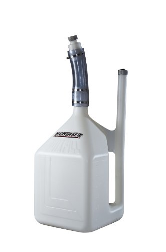HUNSAKER USA 3006-1: 8 Gallon WHITE QuikFill Fuel Jug (w/2.25
