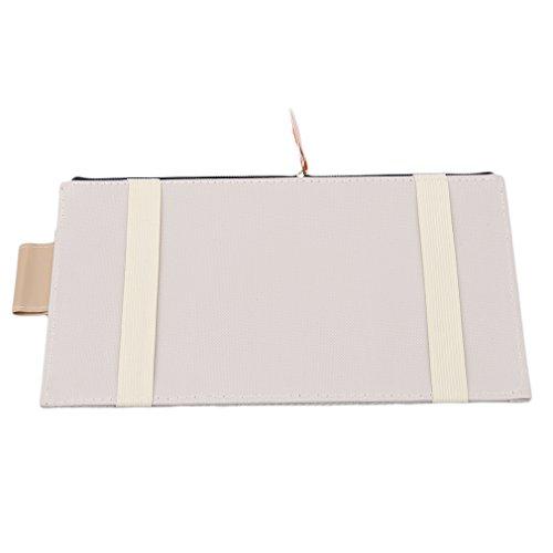 on sale HENGSONG Beige Pare-soleil Multifonction Sac de Suspension de Voiture Sac de Finition Conteneurs Sac à Stockage Rangement Poche
