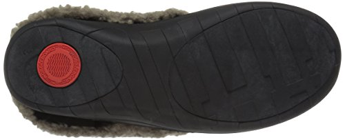 Loaff US Women's Shoe Black fitflop Black M 5 Slippers SNUG 58AvUTBqTw