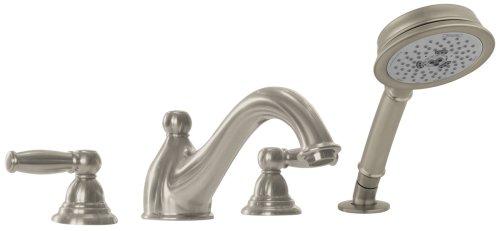 Hansgrohe Limbo C Trim, 4-Hole Tub Filler, Brushed Nickel #06110820