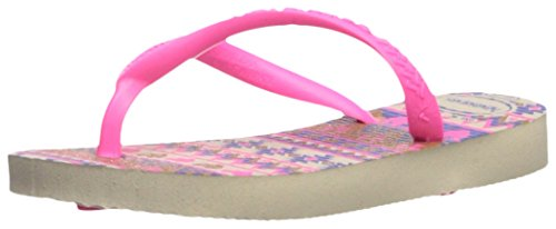 Pictures of Havaianas Kids Slim Fashion Sandal Beige/Pink 8 M US 1