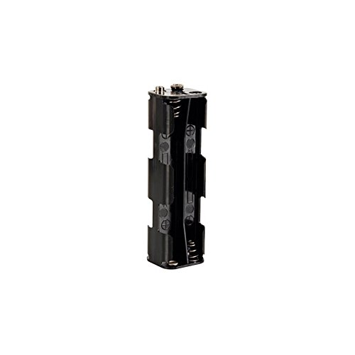 Velleman BH382B Battery Holder for 8 x AA-Cell with Snap Terminals, 1 Grade to 12 Grade