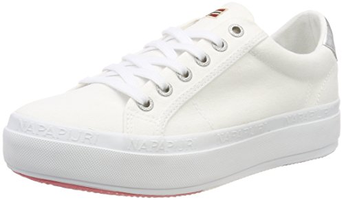para Footwear White NAPAPIJRI Bright Zapatillas Blanco Mujer Astrid wtxxq4