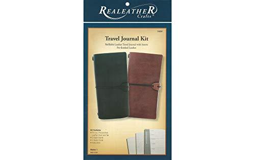 Realeather C4281-13 Travel Journal Kit, Rustic ()