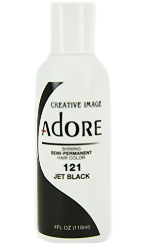 Creative Image Adore Jet Black 121 (Best Color Rinse For Black Hair)