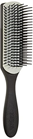 Denman Classic Noir Hair Brush, 7,
