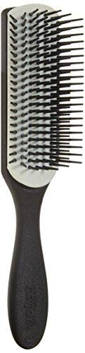 Denman Classic Noir Hair Brush, 7, Row