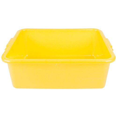 Traex Bus Box - Vollrath 1527-C08 Food Storage Box - Traex Color-Mate Yellow 20