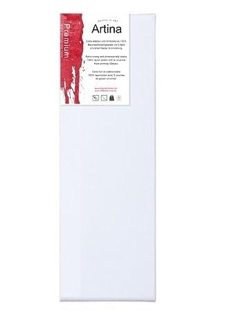 60 x 90 cm Keilrahmen mit Gesso-Grundierung Baumwolle gerahmt mit Leinwand bespannt unbemalt