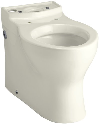 Kohler K-4322-96 Persuade Elongated Toilet Bowl, Less Seat, Biscuit