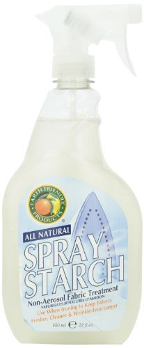 Earth Friendly Products Spray Starch, 22-Ounce by Earth Friendly Products by Earth Friendly Products