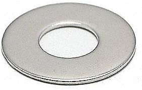 FOREVERBOLT Flat Washer,3//4 Bolt,316 SS,2 OD,PK10 FB3FLWASH34LOD2P10 Silver