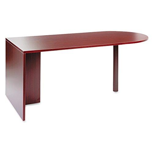 Alera ALEVA277236MY Valencia Series D Top Desk, 71w x 35 1/2d x 29 5/8h, Mahogany